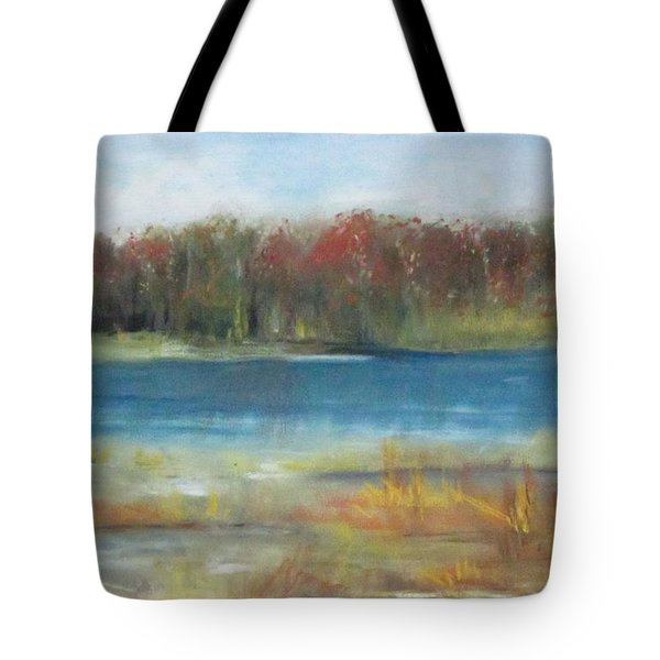 Autumn On The Maurice River Tote Bag