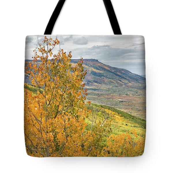 Autumn On The Mesa Tote Bag