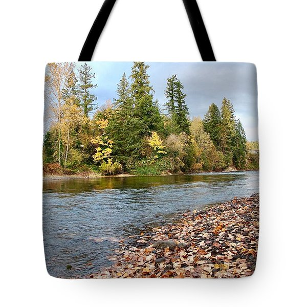 Autumn On The Molalla Tote Bag