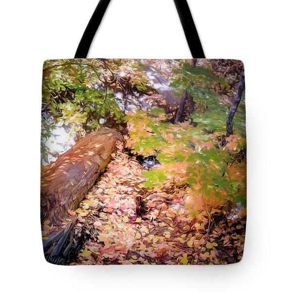 Autumn On The Mountain Tote Bag