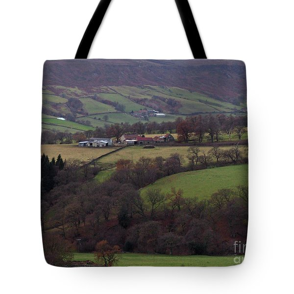 Autumn On The North York Moors Tote Bag