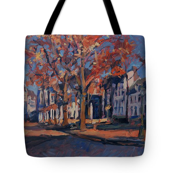 Autumn On The Square Of Our Lady Maastricht Tote Bag