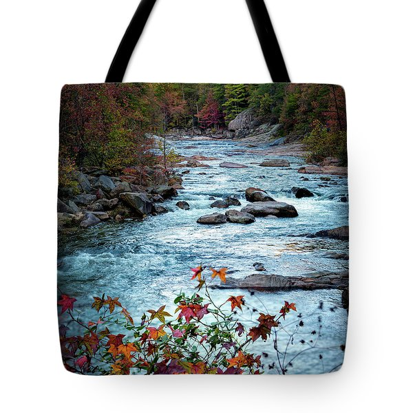 Autumn On Wilson Creek Tote Bag