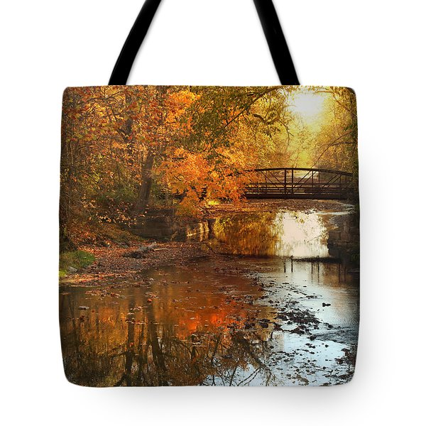 Autumn Over Furnace Run Tote Bag