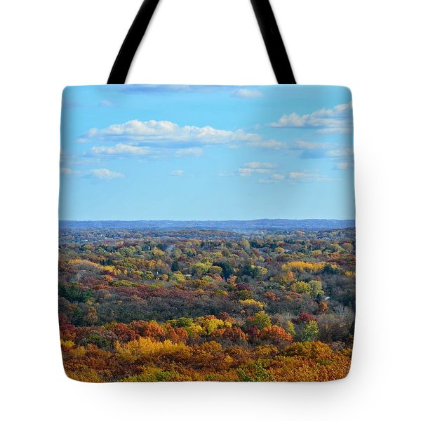 Autumn Overlook Tote Bag