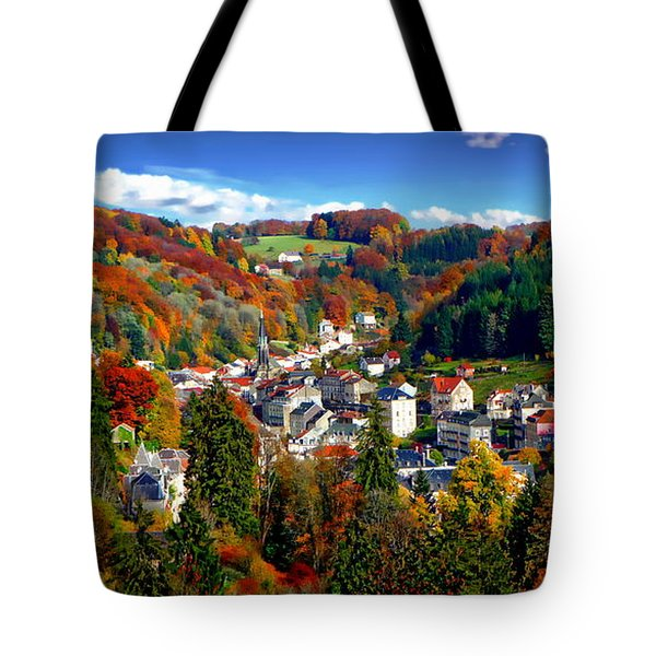 Autumn Panorama Tote Bag