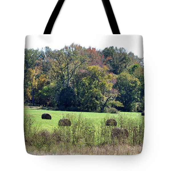 Autumn Pastures Tote Bag by Jan Amiss Photography