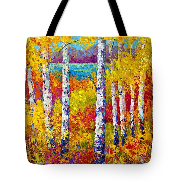 Autumn Patchwork Tote Bag