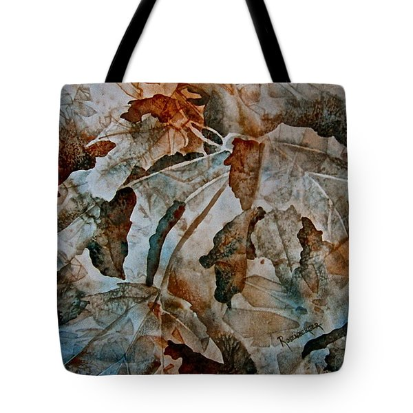 Autumn Patterns Tote Bag