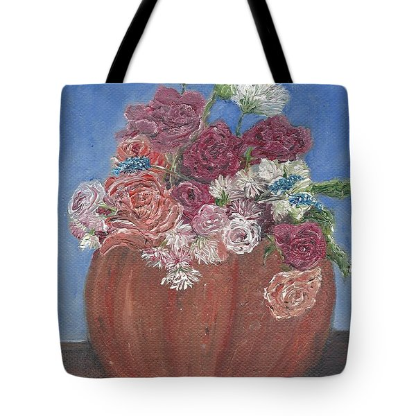 Autumn Petals Tote Bag