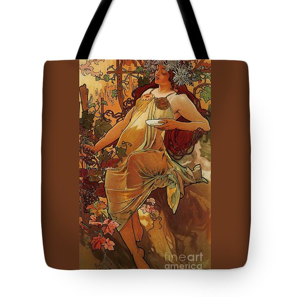 Autumn Tote Bag by Pg Reproductions