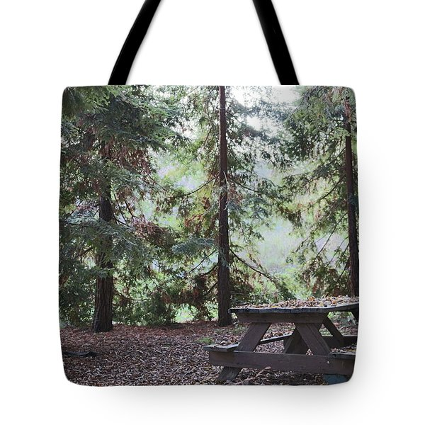 Autumn Picnic In The Woods  Tote Bag