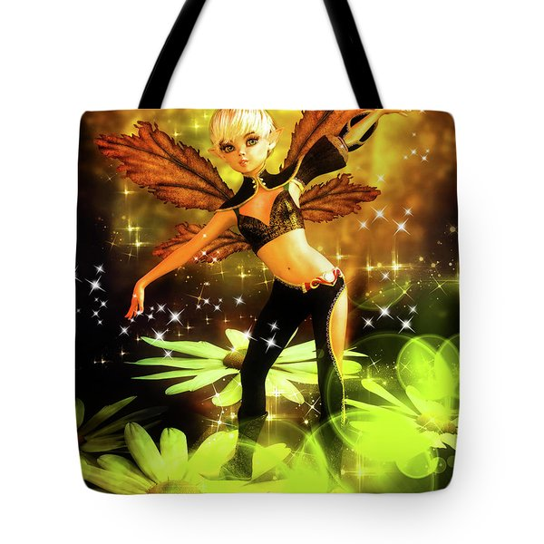 Autumn Pixie Tote Bag