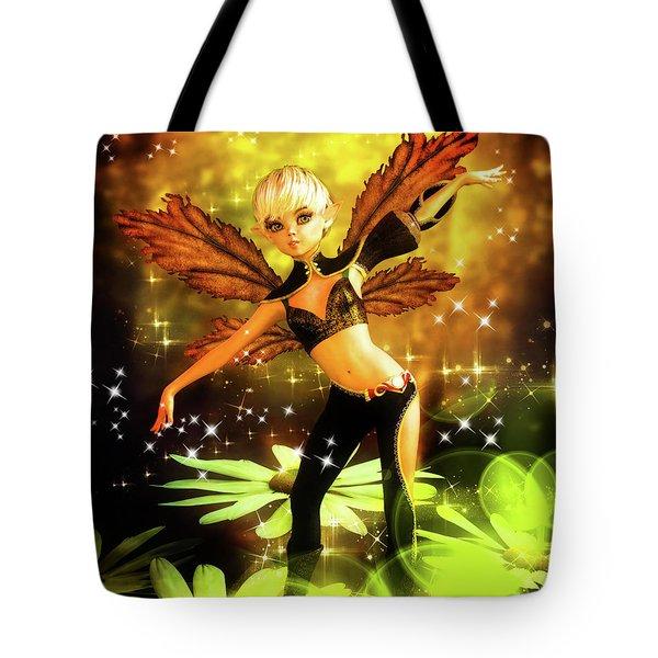 Autumn Pixie Tote Bag
