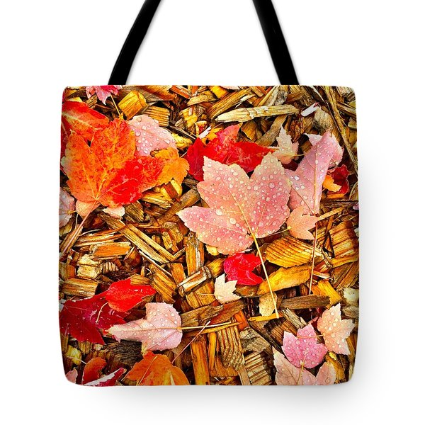Autumn Potpourri Tote Bag