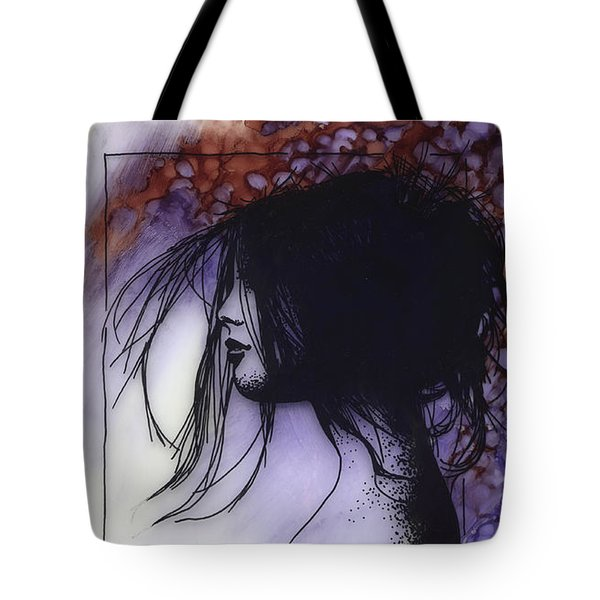 Tote Bag featuring the painting Autumn by Ragen Mendenhall