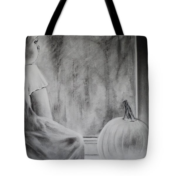 Autumn Rain Tote Bag by Carla Carson