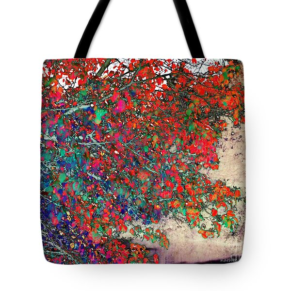 Autumn Rainbow Tote Bag
