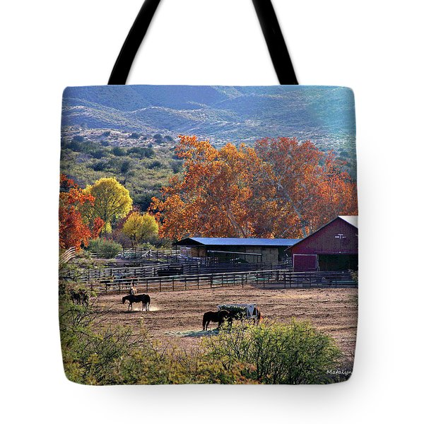 Autumn Ranch Tote Bag