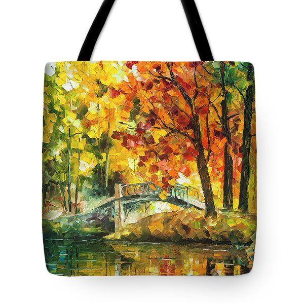 Autumn Rest   Tote Bag by Leonid Afremov