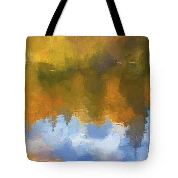 Tote Bag featuring the photograph Autumn Reverie by Bitter Buffalo Photography