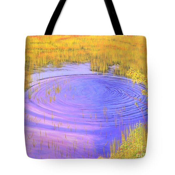 Autumn Ripples Tote Bag