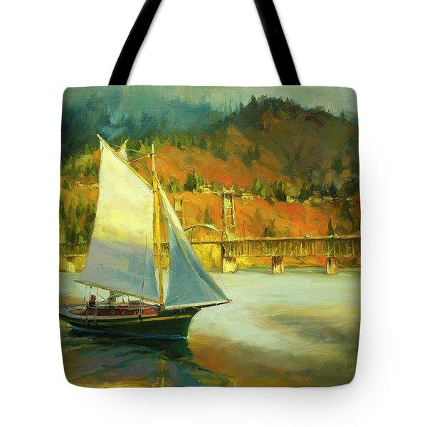 Autumn Sail Tote Bag