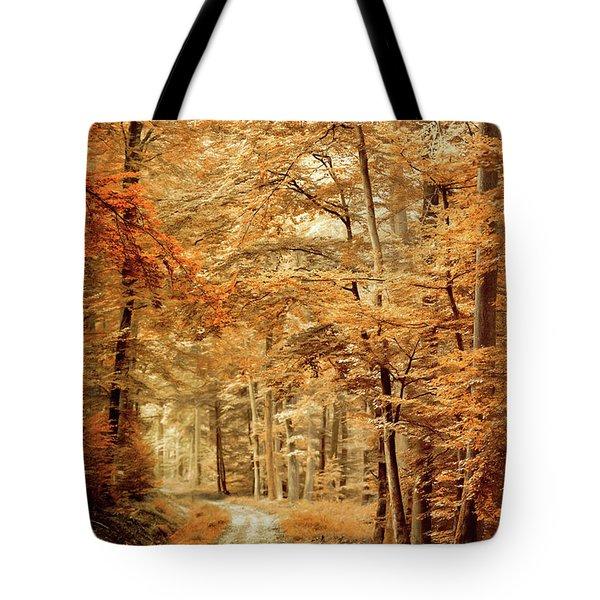 Autumn Secret Tote Bag