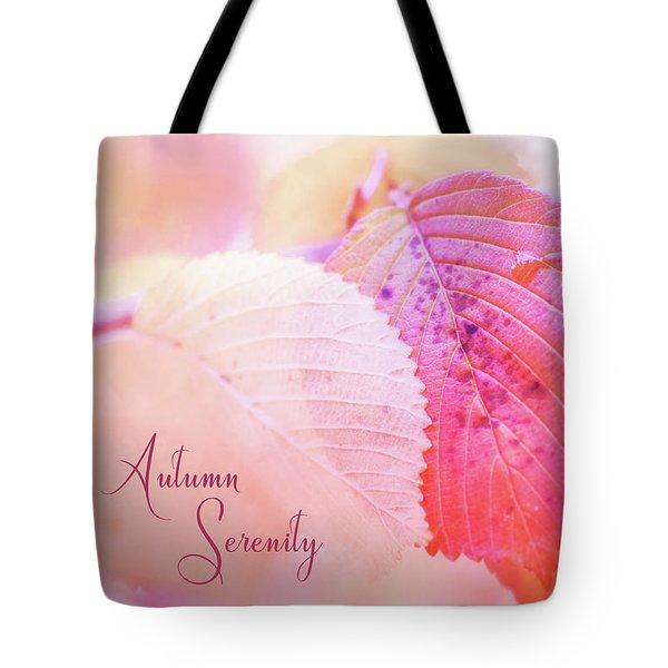 Autumn Serenity Tote Bag