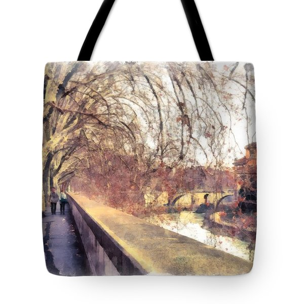 Autumn Tote Bag by Sergey Simanovsky