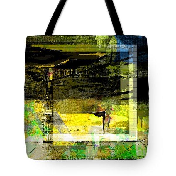 Tote Bag featuring the digital art Autumn Shine by Art Di