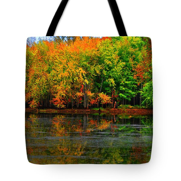 Autumn Sings Tote Bag by Diane E Berry