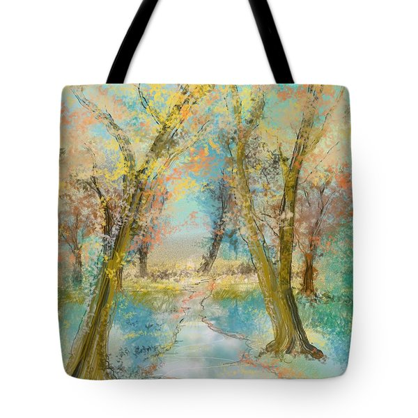 Autumn Sketch Tote Bag
