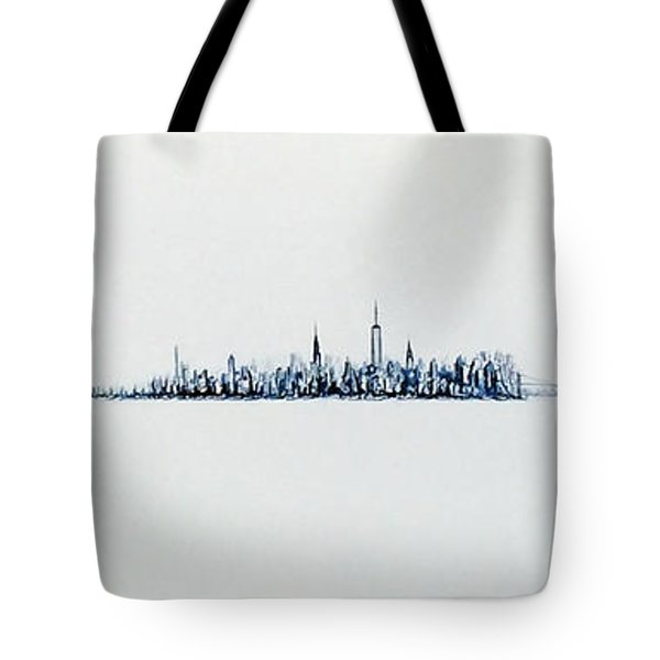 Autumn Skyline Tote Bag