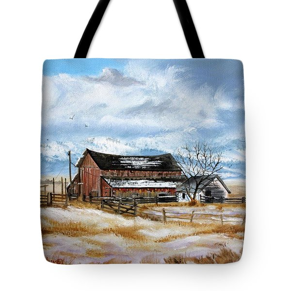 Autumn Slips Away Tote Bag