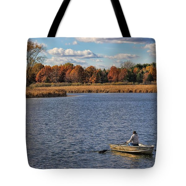 Autumn Solitude Tote Bag