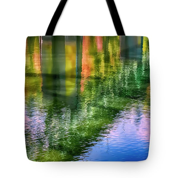 Autumn Span  Tote Bag