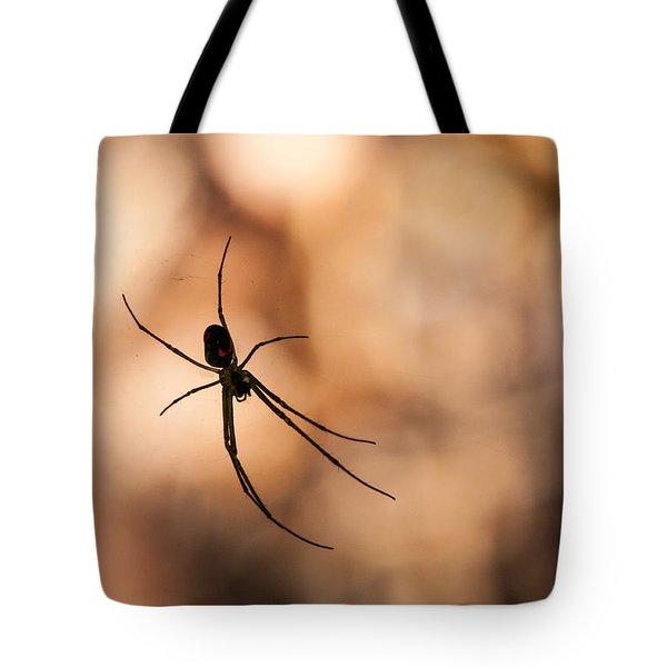 Autumn Spider Tote Bag