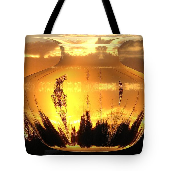 Tote Bag featuring the photograph Autumn Spirits by Joyce Dickens