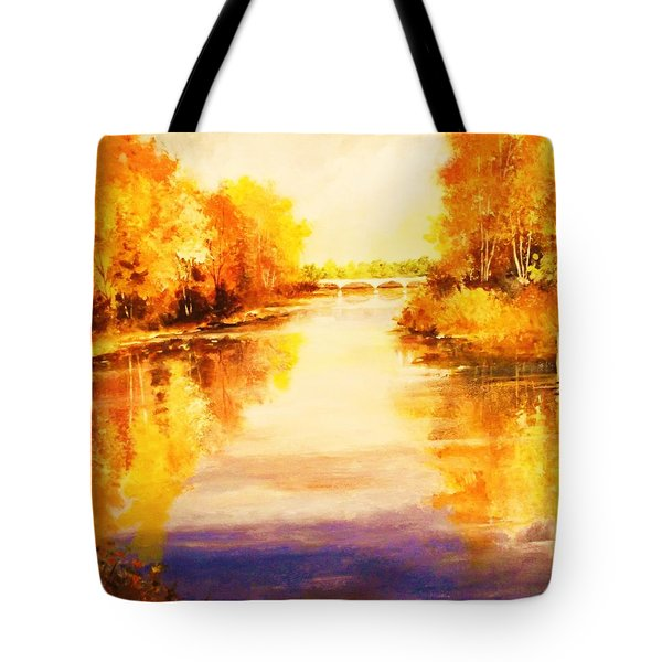 Autumn Gateway Tote Bag
