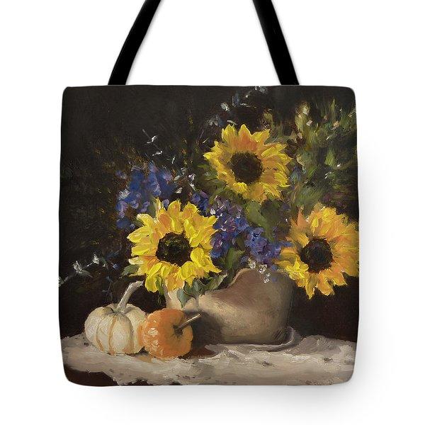 Autumn Still Tote Bag by Lori Ippolito