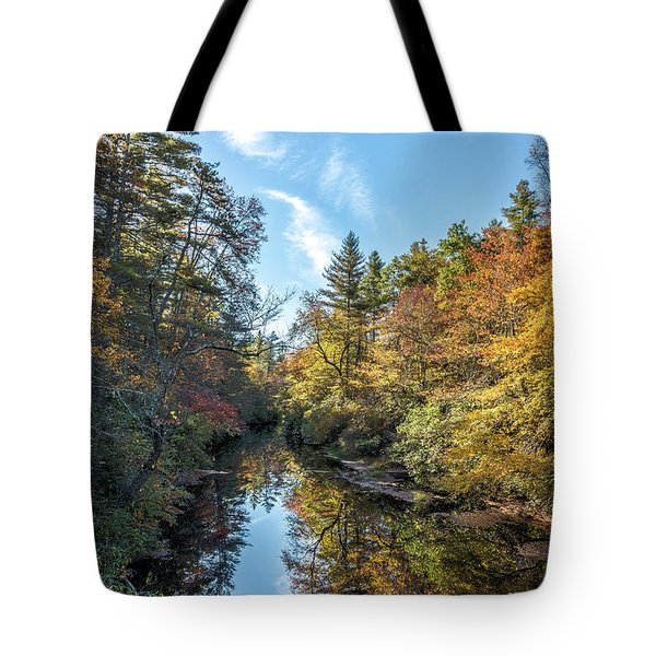 Autumn Stream Tote Bag