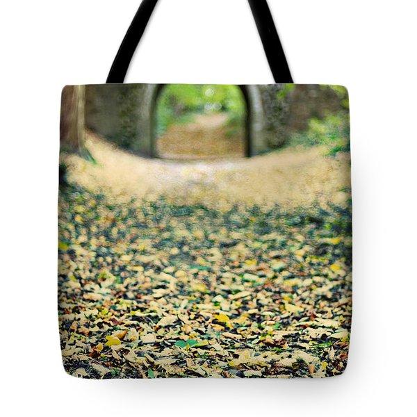 Autumn Stroll Tote Bag by Meirion Matthias