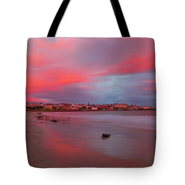 Tote Bag featuring the photograph Autumn Sunrise by Roy McPeak