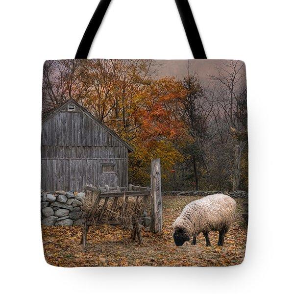 Autumn Sweater Tote Bag