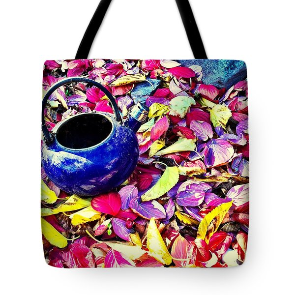 Autumn Tea Tote Bag