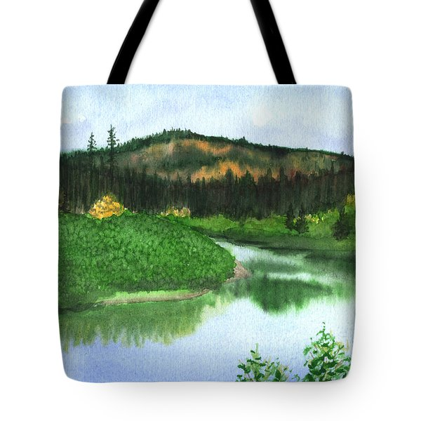 Autumn Transition Tote Bag