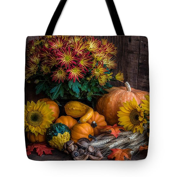 Autumn Treasure Tote Bag