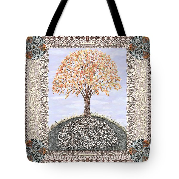 Autumn Tree Of Life Tote Bag