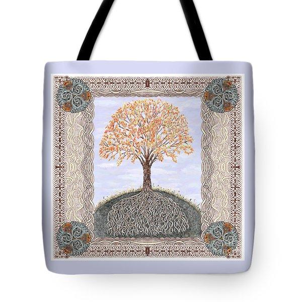 Autumn Tree Of Life Tote Bag